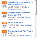 Conference Hound Expands Content Syndication With Film Festival Widget