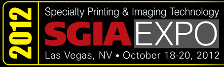 Photo: Specialty Graphics Annual (SGIA) National Convention 2012