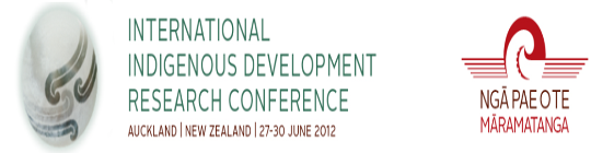 Photo: International Indigenous Development Research Conference 2012
