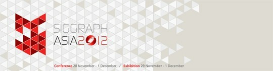 Photo: SIGGRAPH Asia 2012