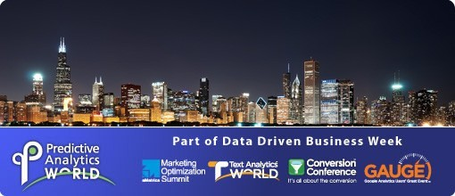 Photo: Predictive Analytics World Chicago 2012