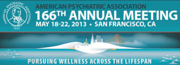 Photo: American Psychiatric Association (APA) Annual Meeting 2013