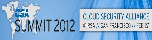 Photo: Cloud Security Alliance (CSA) Summit 2012