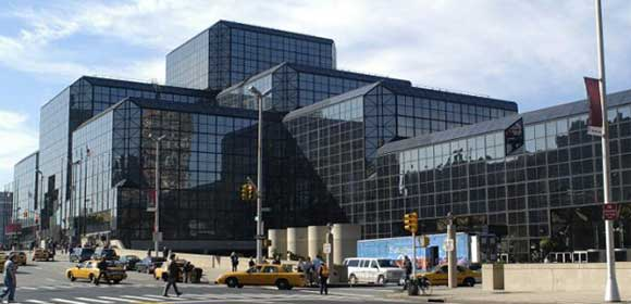 Photo: Jacob K. Javits Convention Center